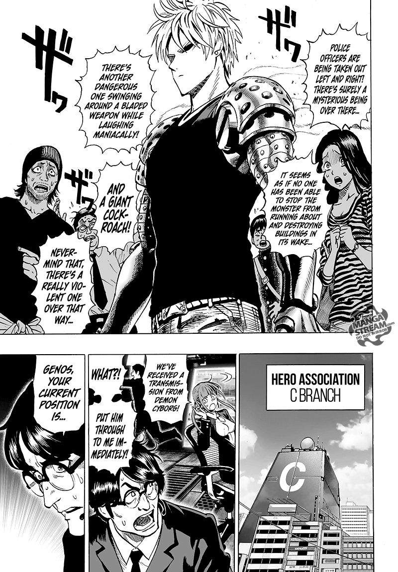 One Punch Man Chapter 61 Read Online Image 13