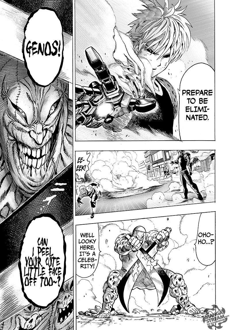 One Punch Man Chapter 62 Read Online Image 12