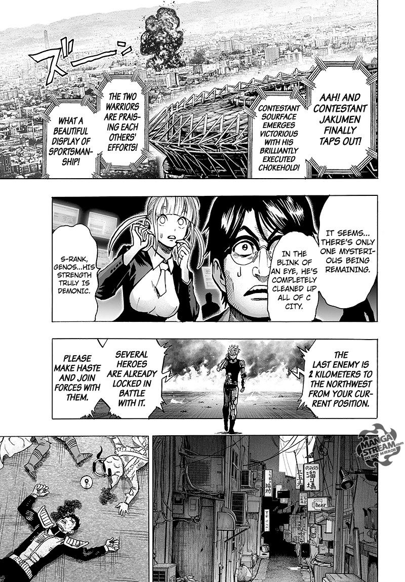 One Punch Man Chapter 62 Read Online Image 18