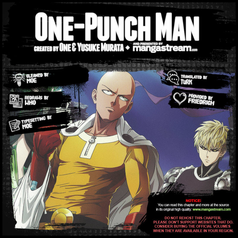 One Punch Man Chapter 63 Read Online Image 1