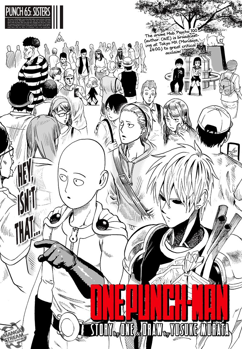 One Punch Man Chapter 65 Read Online Read Online Image 1
