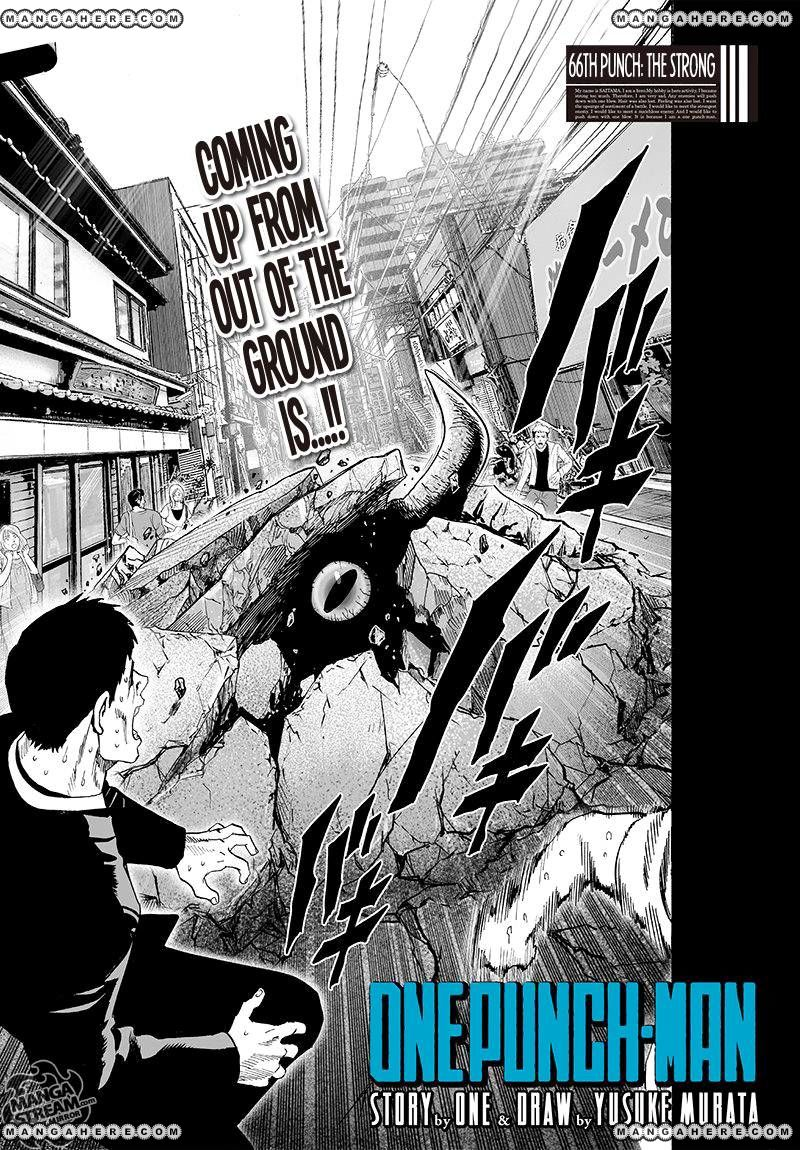 One Punch Man Chapter 66 Read Online Image 1