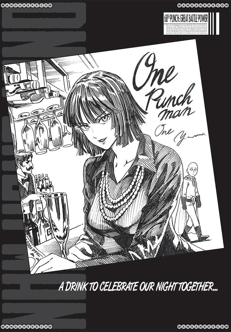One Punch Man Chapter 68 Read Online Image 1