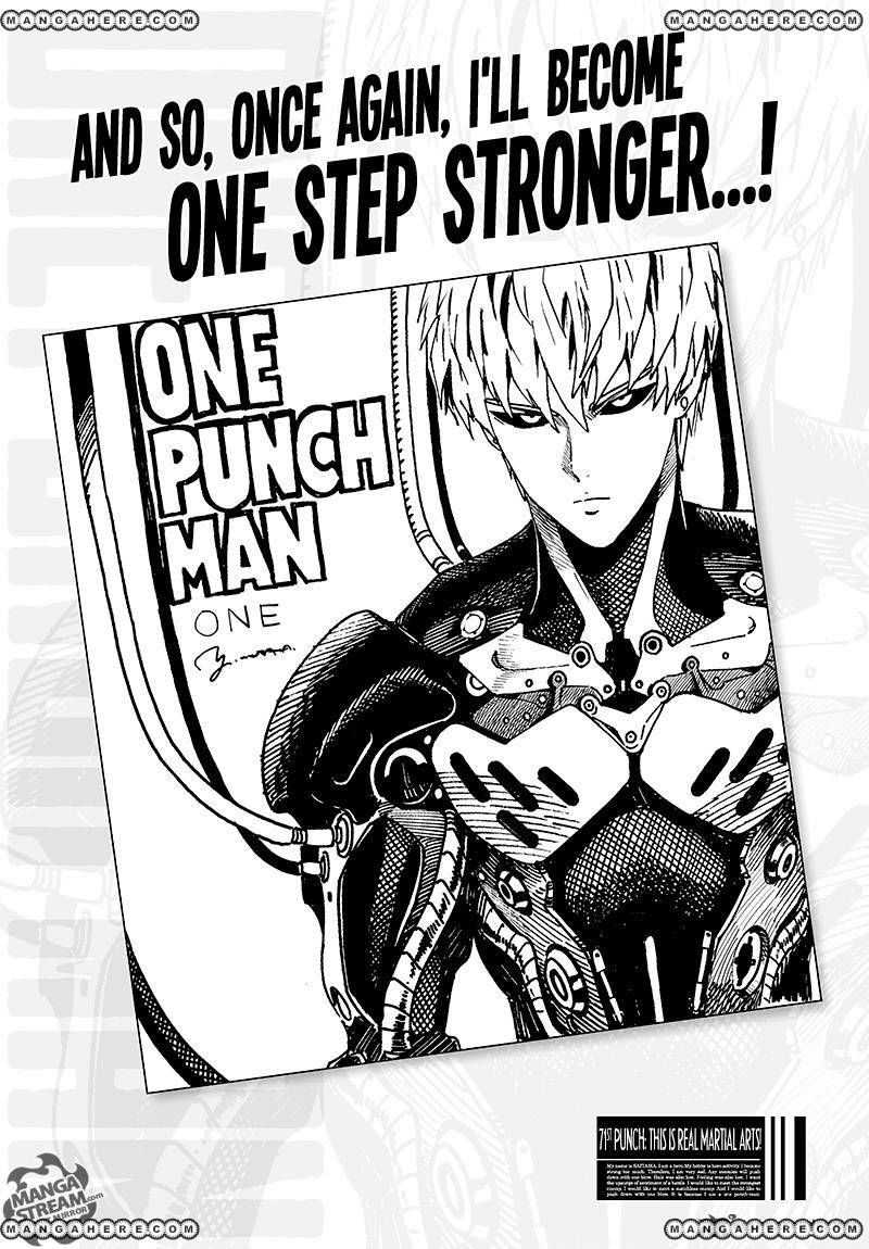 One Punch Man Chapter 71 Read Online Image 1