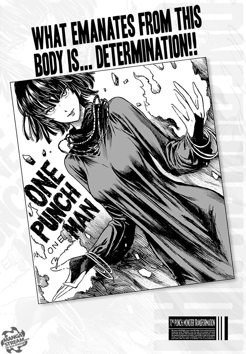 One Punch Man Chapter 72 Read Online Image 1