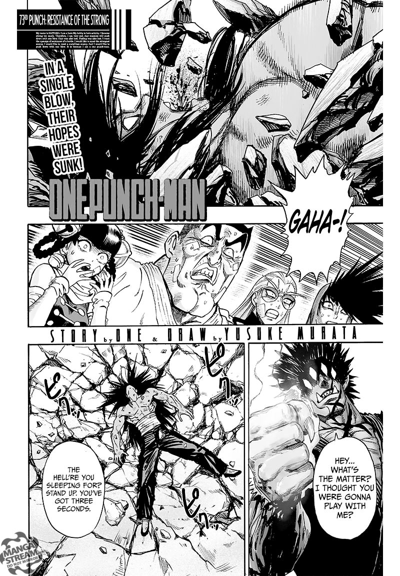 One Punch Man Chapter 73 Read Online Image 1