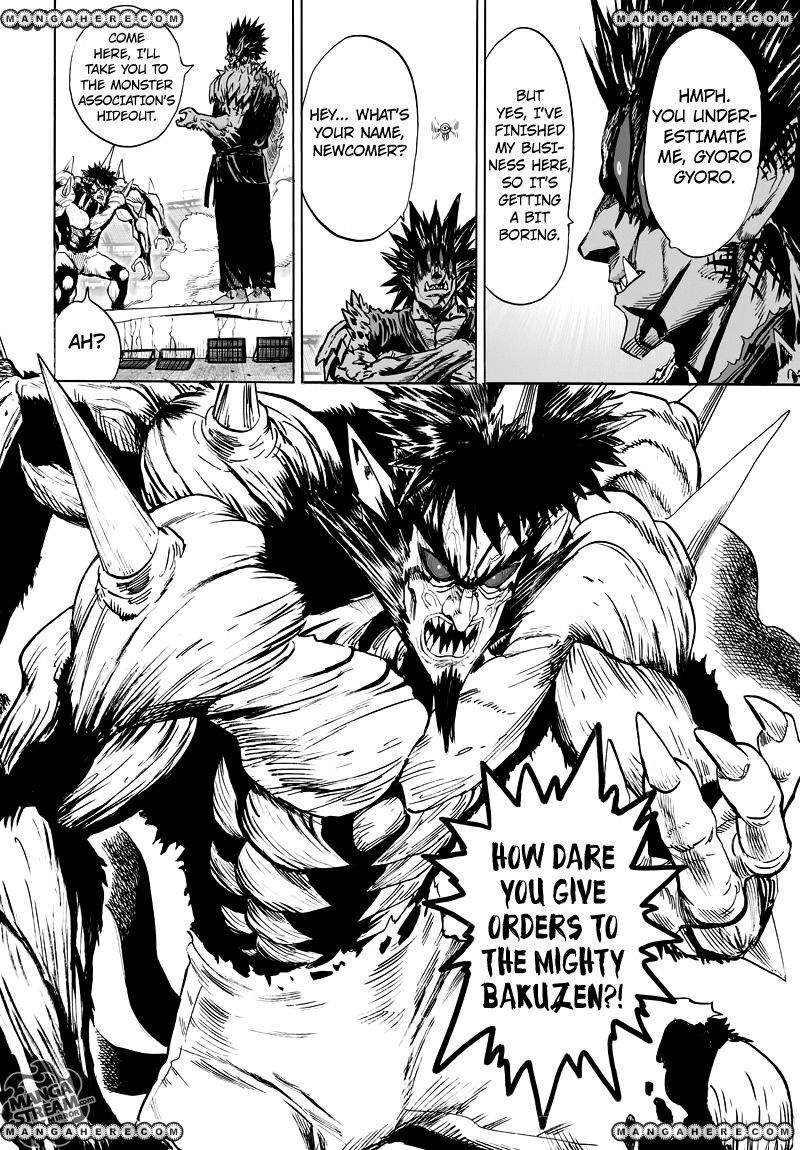 One Punch Man Chapter 74 Read Online Image 8