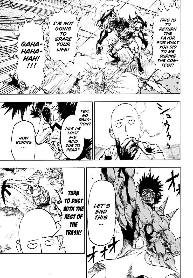 One Punch Man Chapter 75 Read Online Image 11