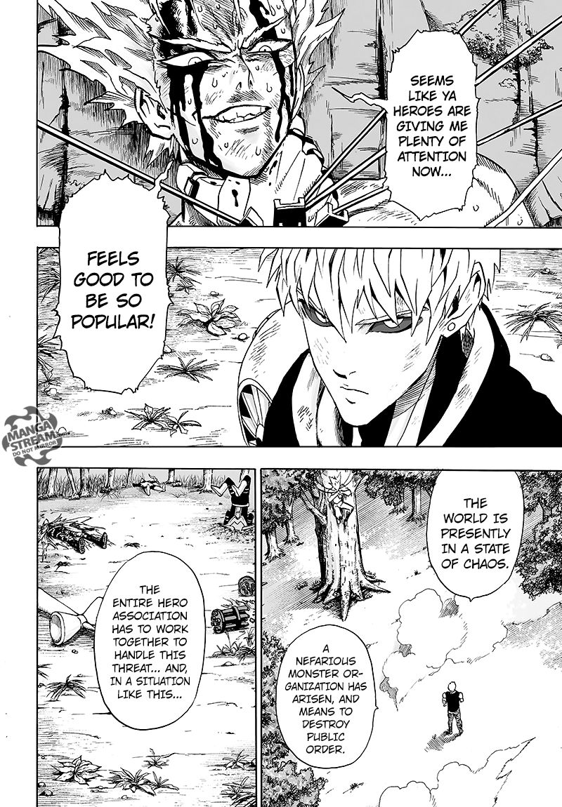 One Punch Man Chapter 83 Read Online Image 36