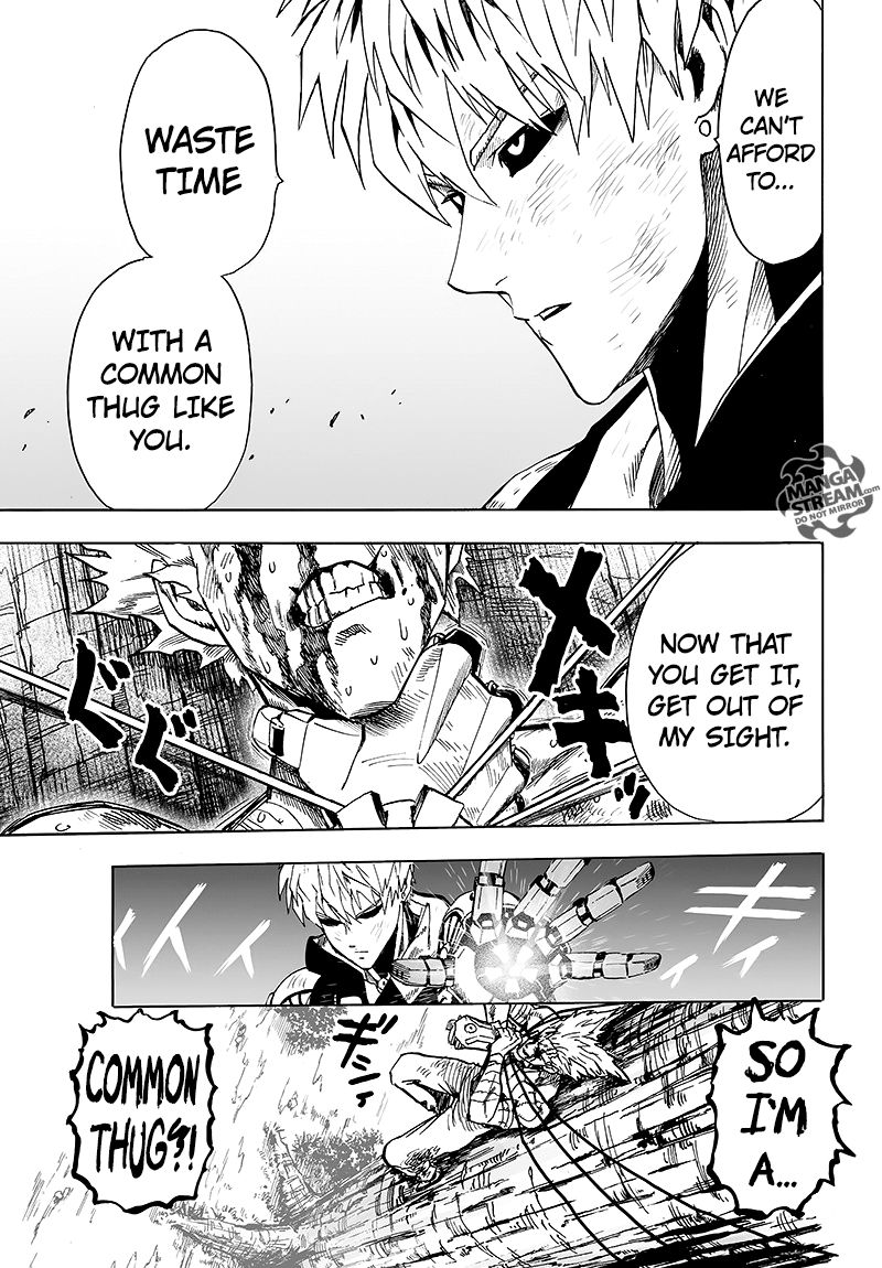 One Punch Man Chapter 83 Read Online Image 37