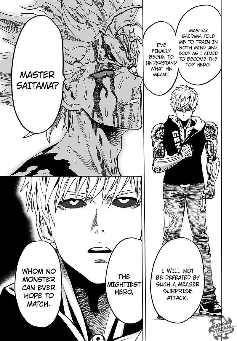 One Punch Man Chapter 83 Read Online Image 50