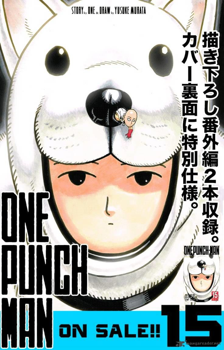 One Punch Man Chapter 84 Image 1