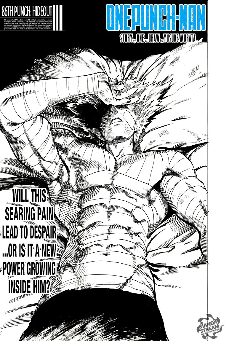 One Punch Man Chapter 86 Read Online Image 1