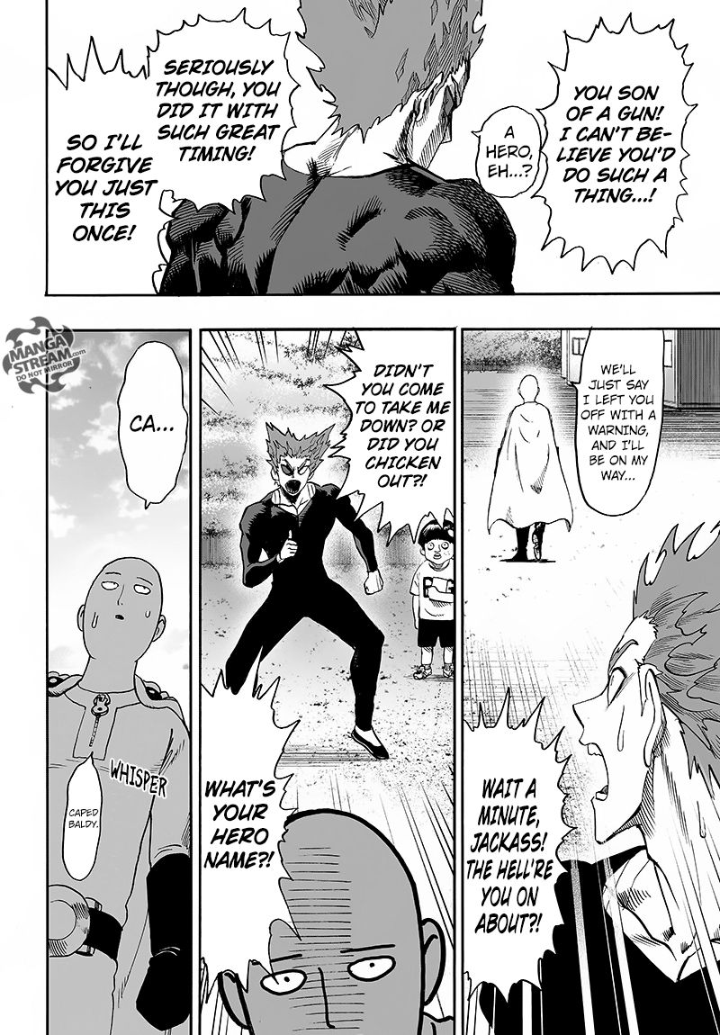 One Punch Man Chapter 87 Read Online Image 30