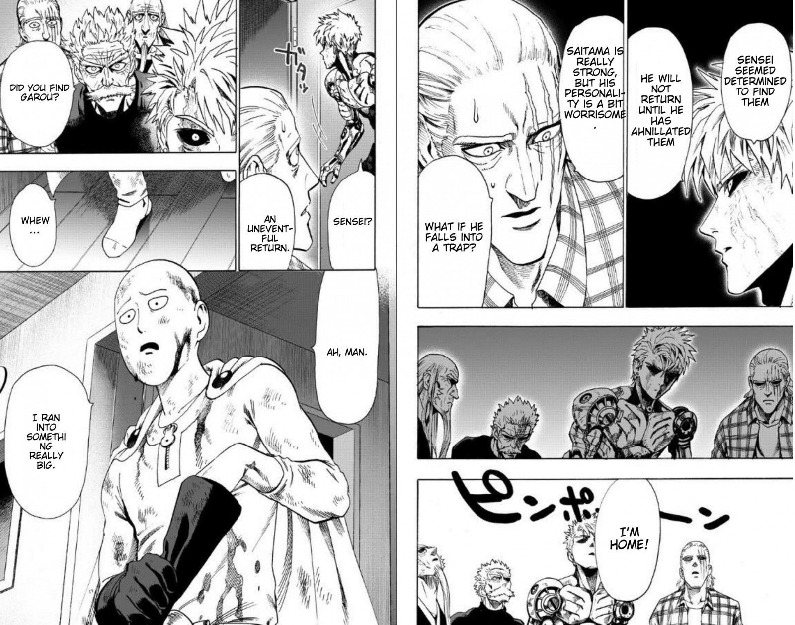 One Punch Man Chapter 89 Read Online Image 3