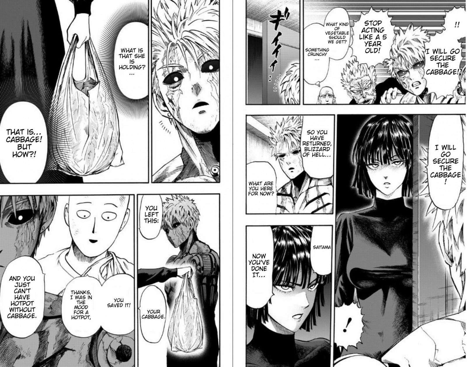One Punch Man Chapter 89 Read Online Image 6