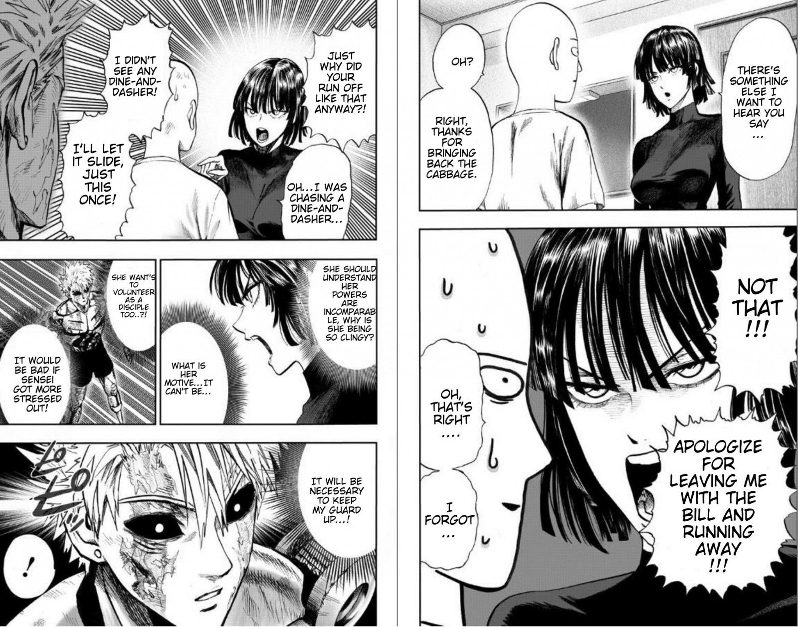 One Punch Man Chapter 89 Read Online Image 7