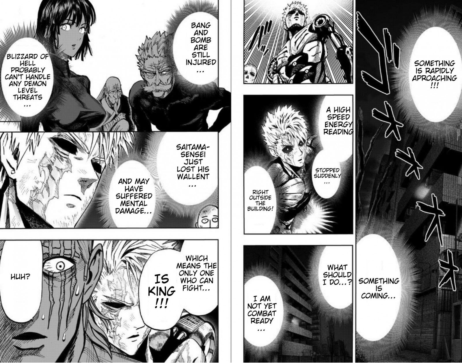 One Punch Man Chapter 89 Read Online Image 8