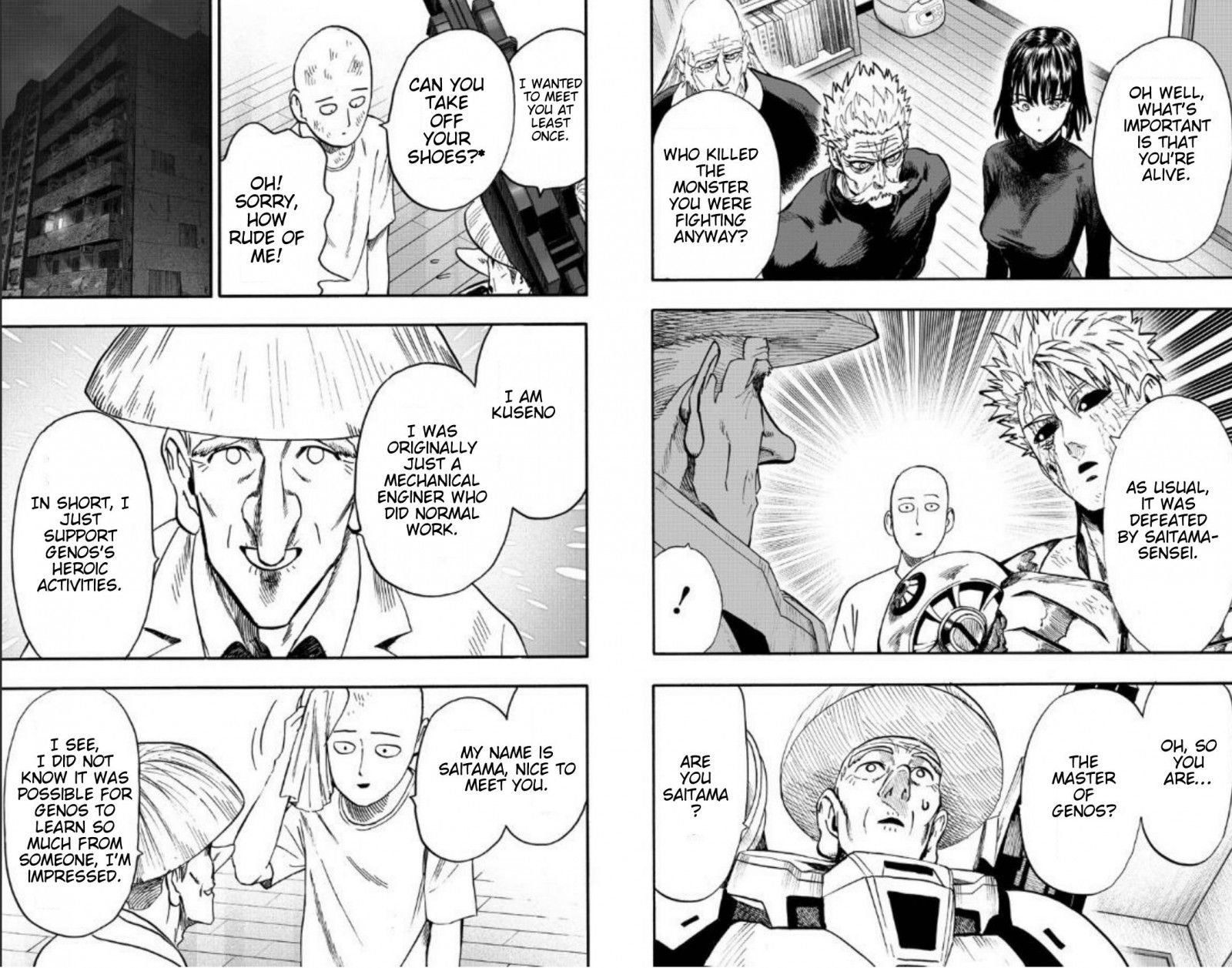One Punch Man Chapter 89 Read Online Image 11