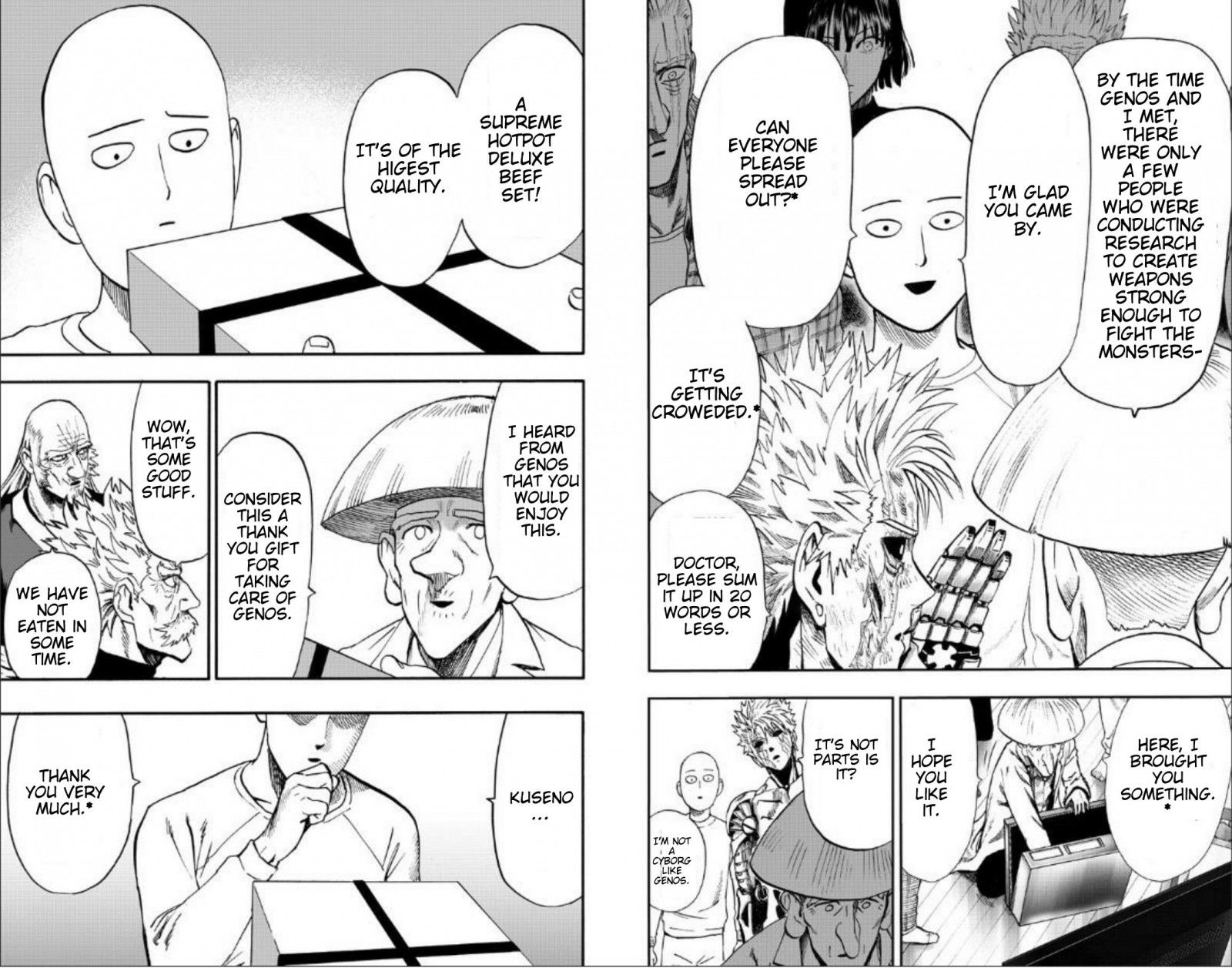 One Punch Man Chapter 89 Read Online Image 12