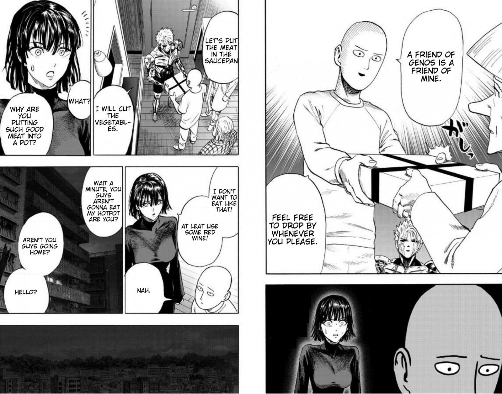 One Punch Man Chapter 89 Read Online Image 13