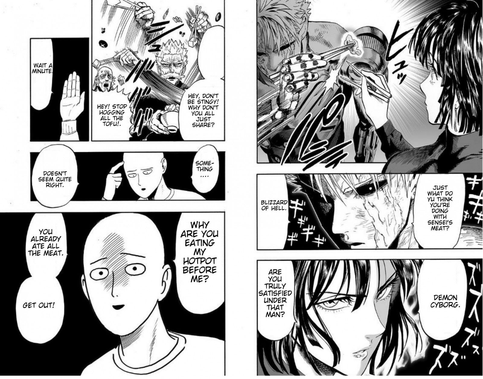 One Punch Man Chapter 89 Read Online Image 48