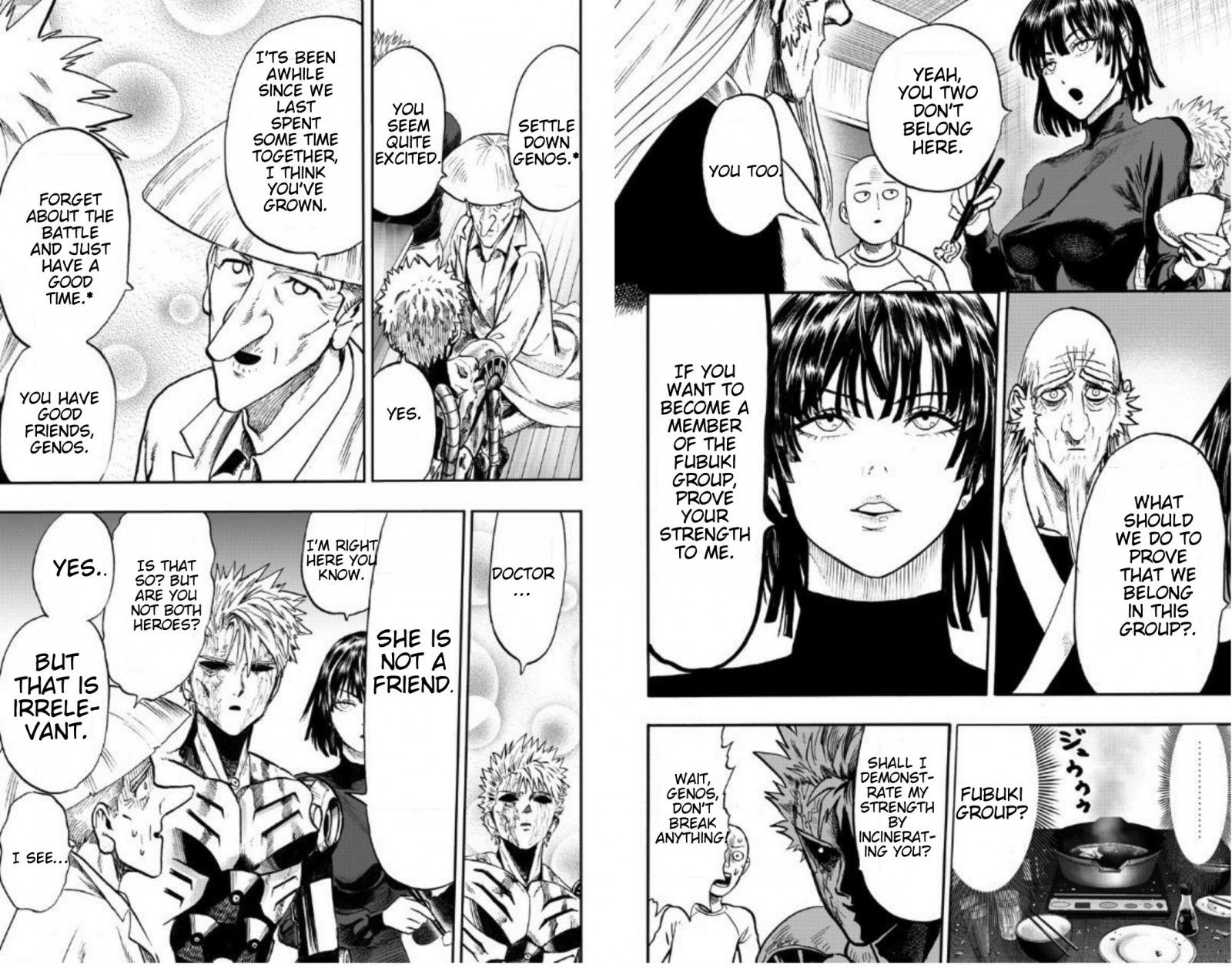 One Punch Man Chapter 89 Read Online Image 49