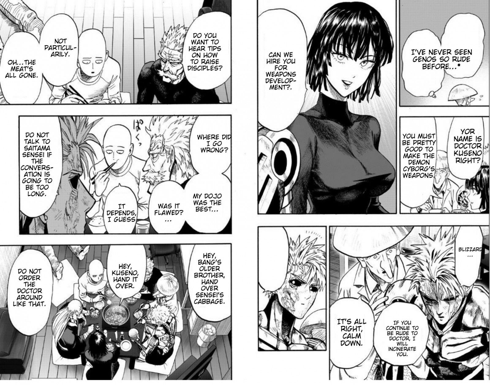 One Punch Man Chapter 89 Read Online Image 50