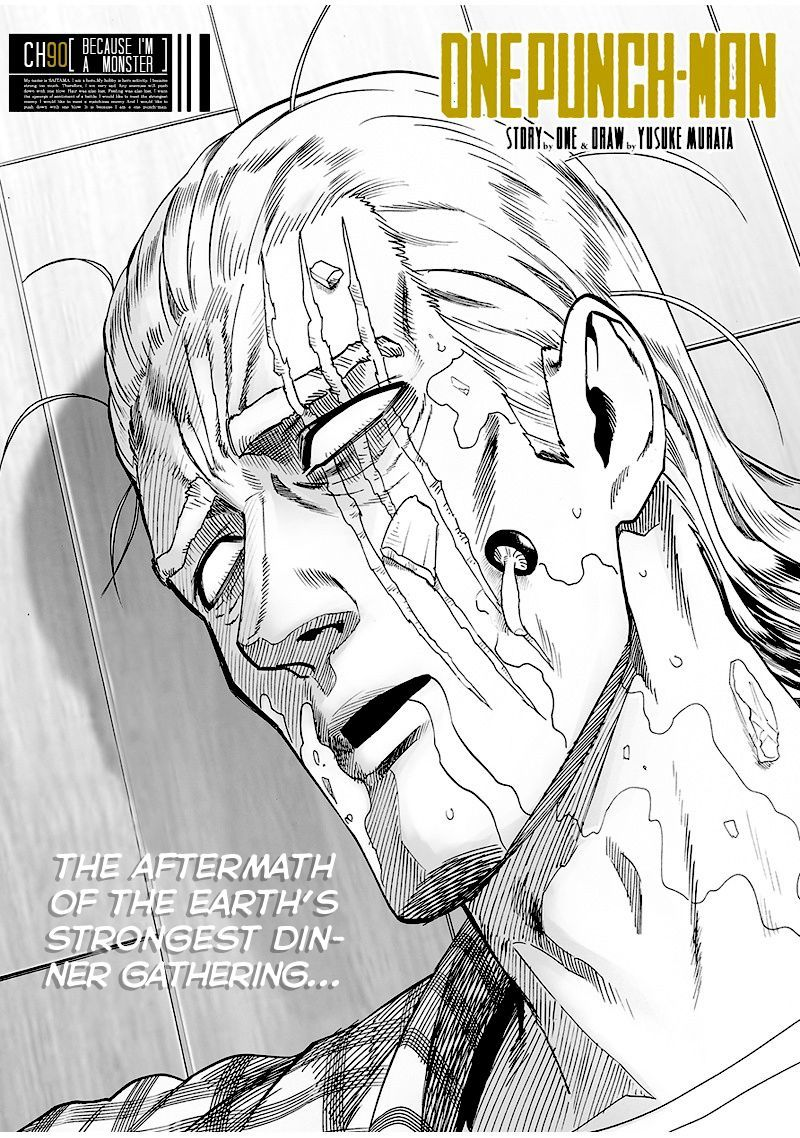 One Punch Man Chapter 90 Read Online Image 1