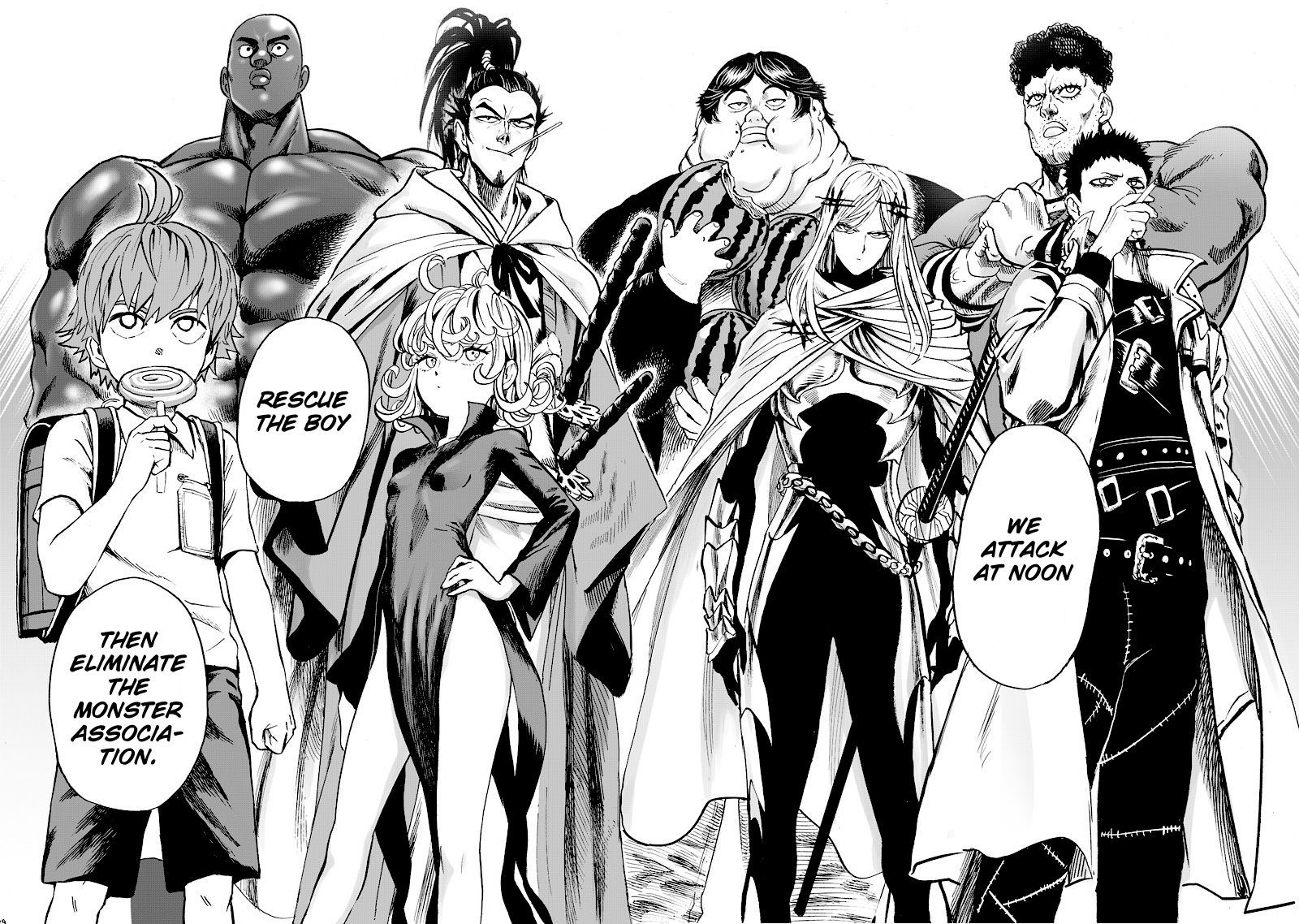 One Punch Man Chapter 90 Read Online Image 18