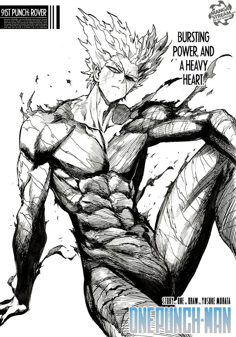 One Punch Man Chapter 91 Read Online Image 1