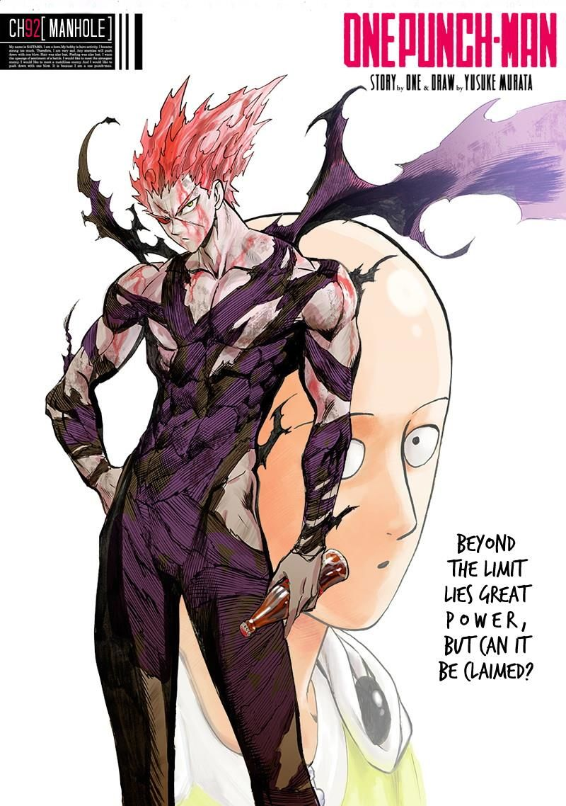 One Punch Man Chapter 92 Read Online Image 1