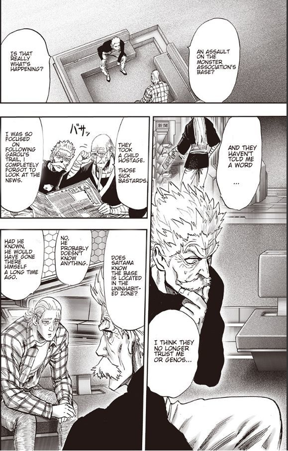 One Punch Man Chapter 93 Read Online Image 48