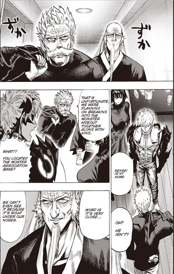 One Punch Man Chapter 93 Read Online Image 63
