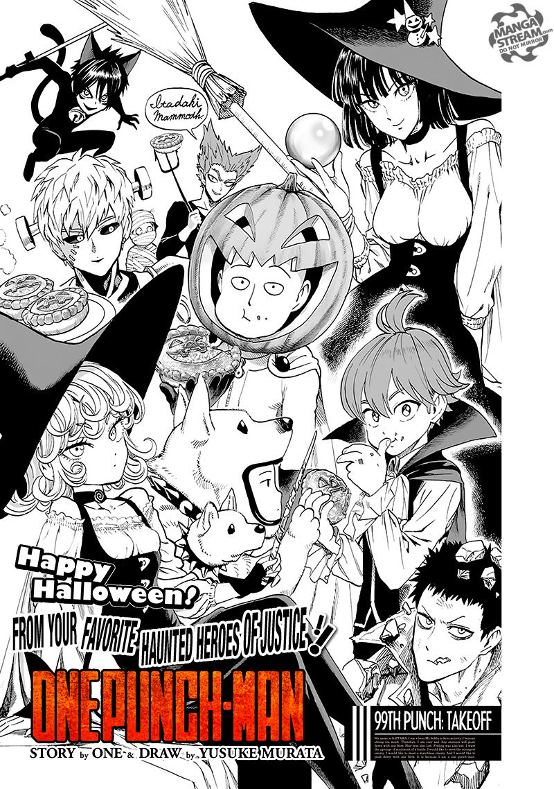 One Punch Man Chapter 99 Read Online Image 1