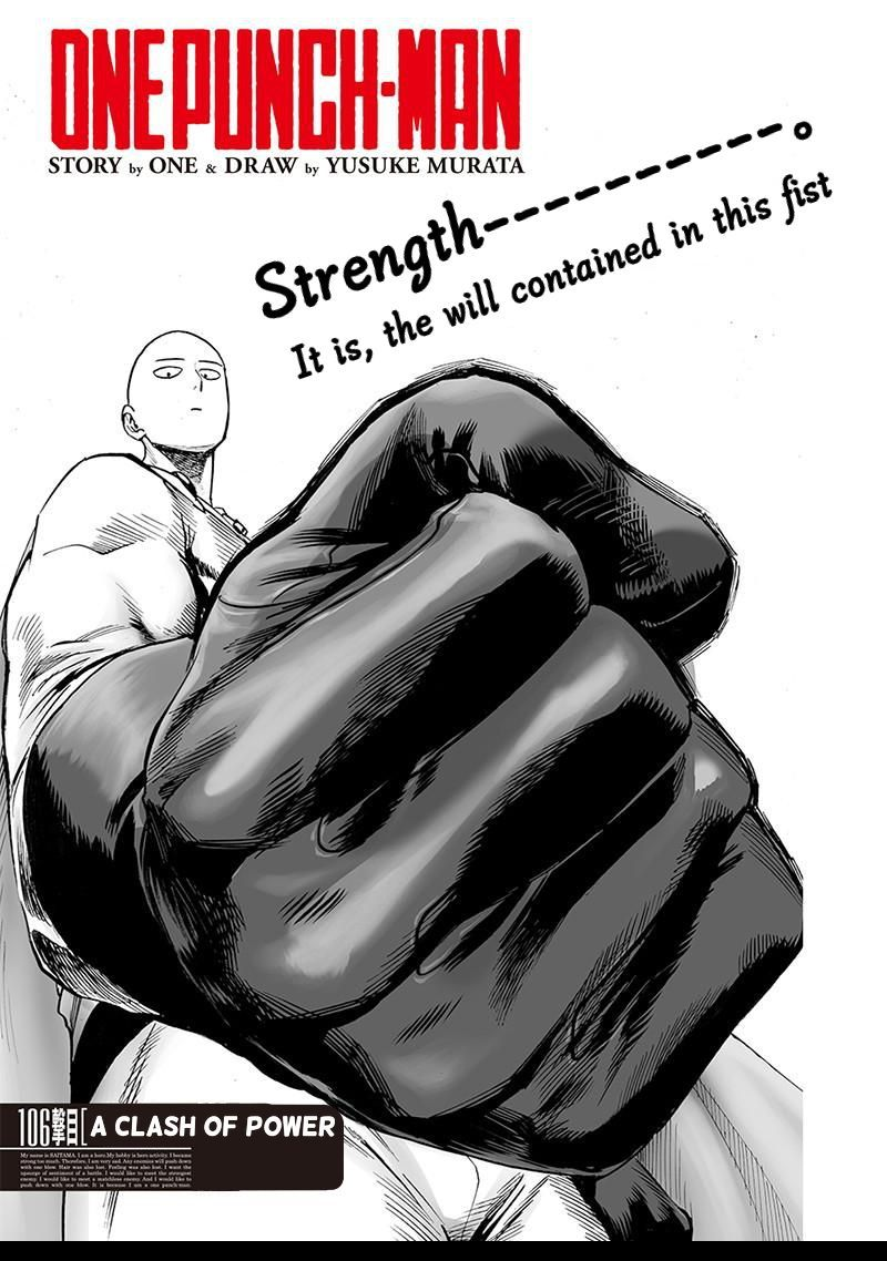 One Punch Man Chapter 106 Read Online Image 1