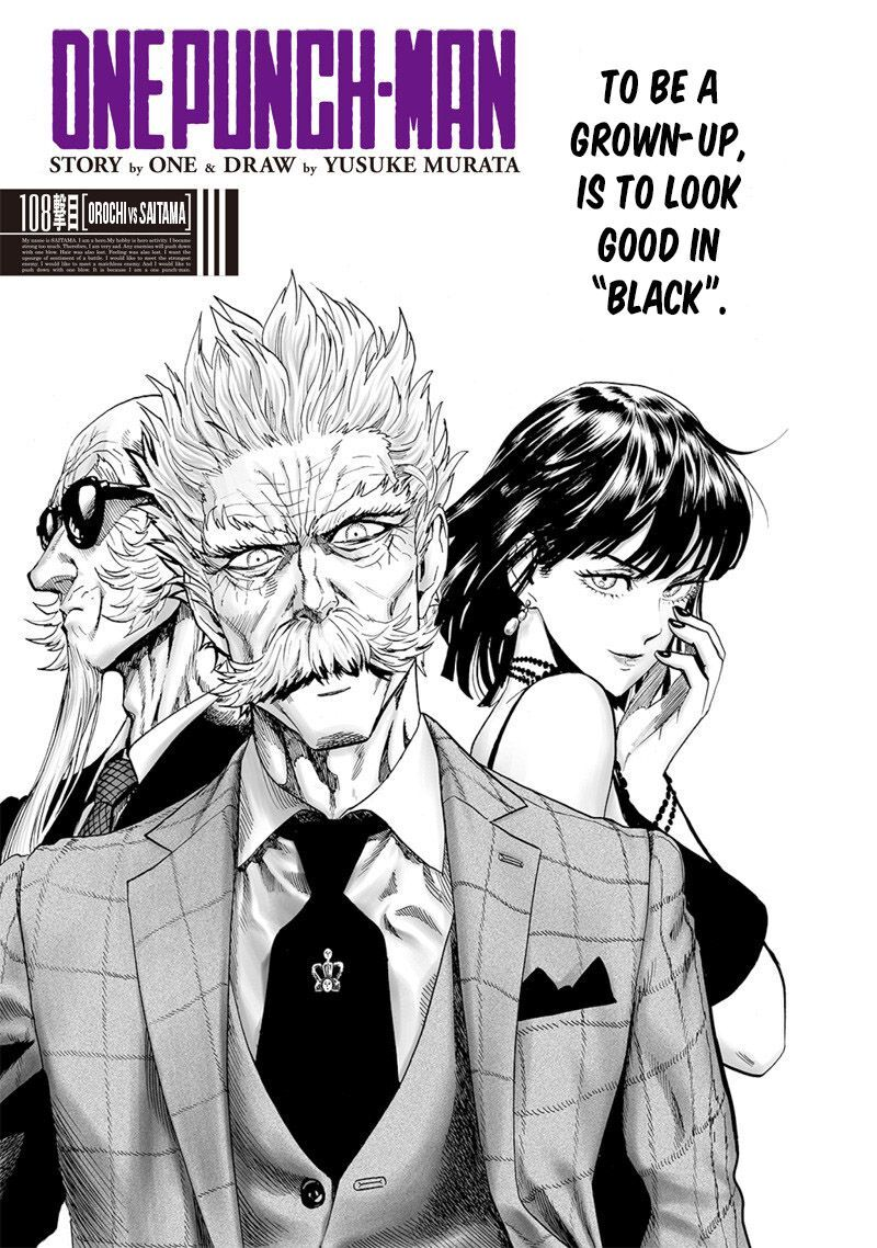 One Punch Man Chapter 108 Read Online Image 1