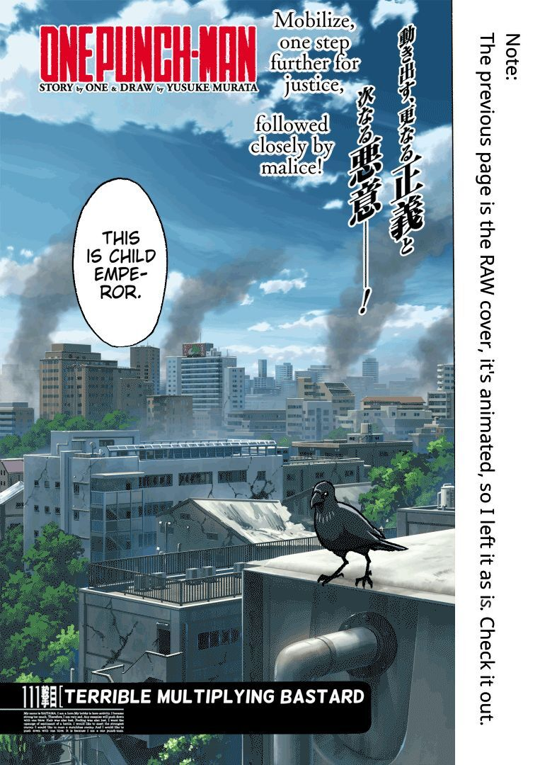 One Punch Man Chapter 111 Read Online Image 3
