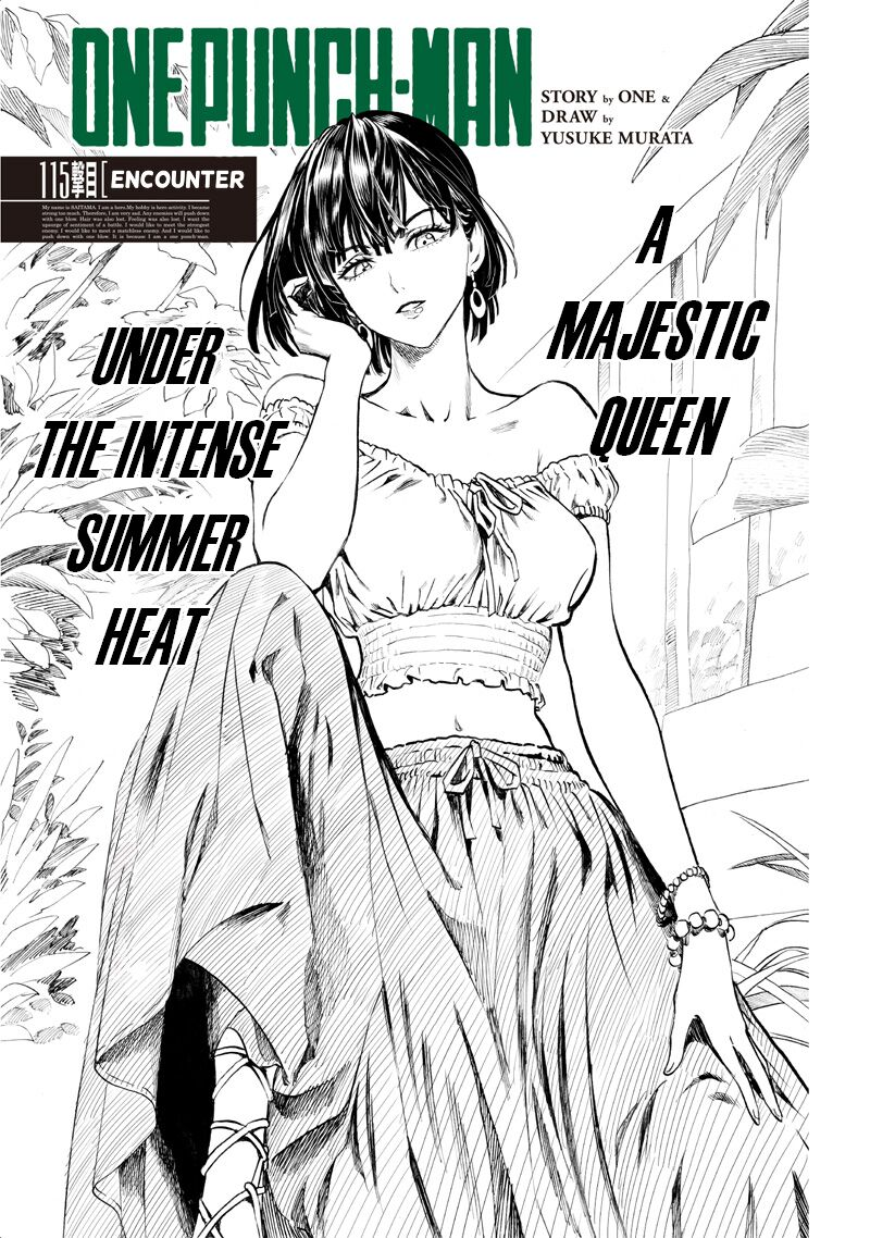 One Punch Man Chapter 115 Read Online Image 1