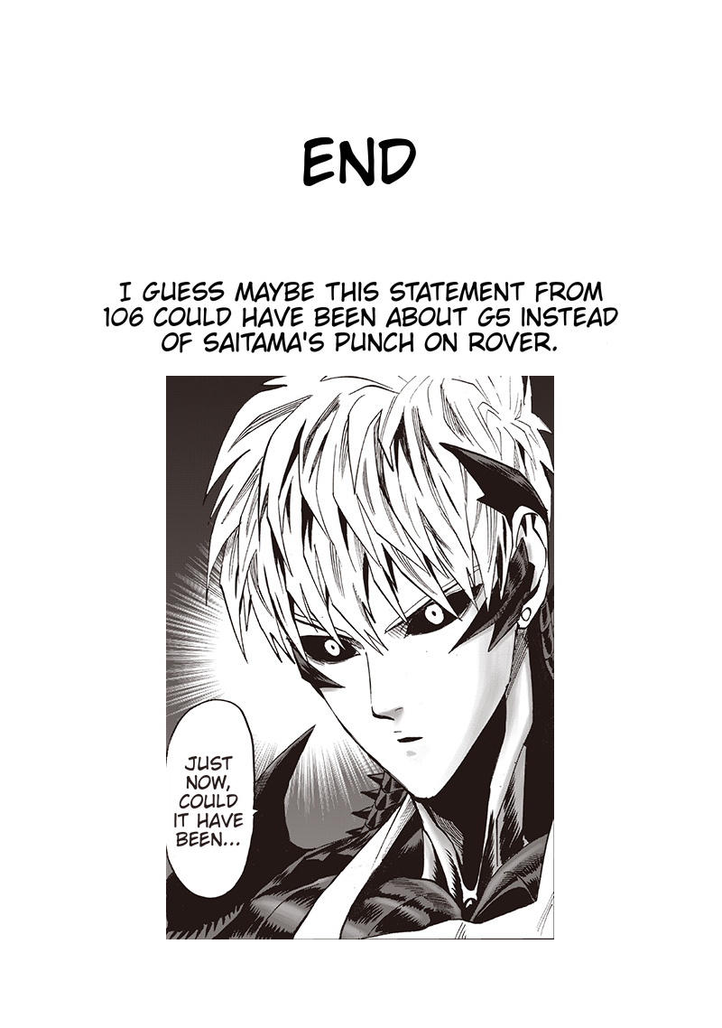 One Punch Man Chapter 119 Read Online Image 30
