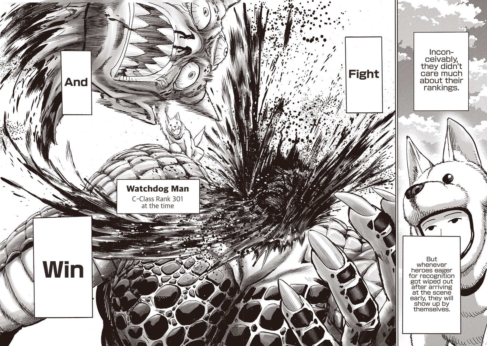 One Punch Man Chapter 122 Read Online Image 19