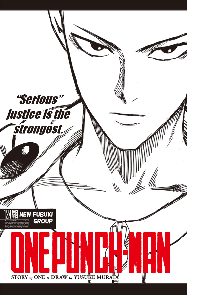 One Punch Man Chapter 124 Read Online Image 1