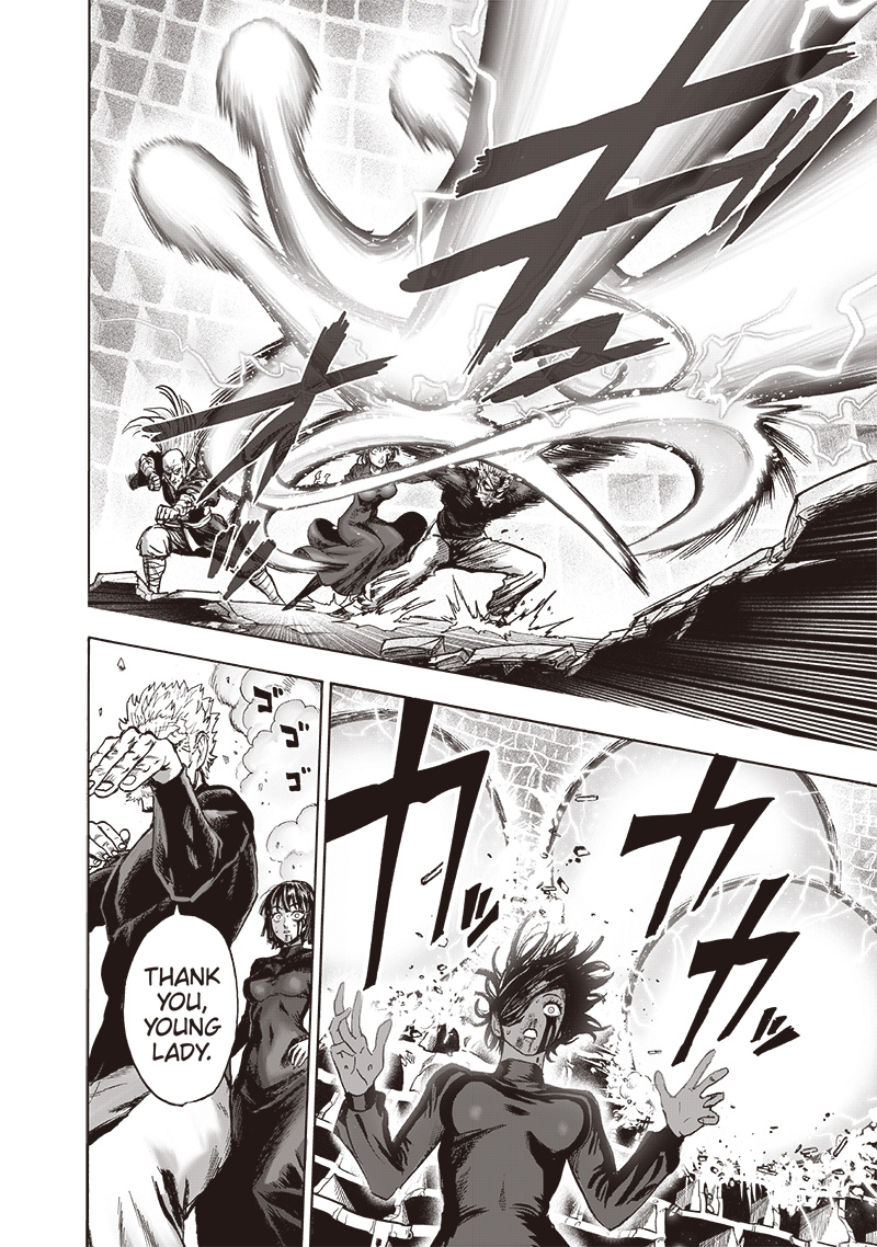 One Punch Man Chapter 124 Read Online Image 15