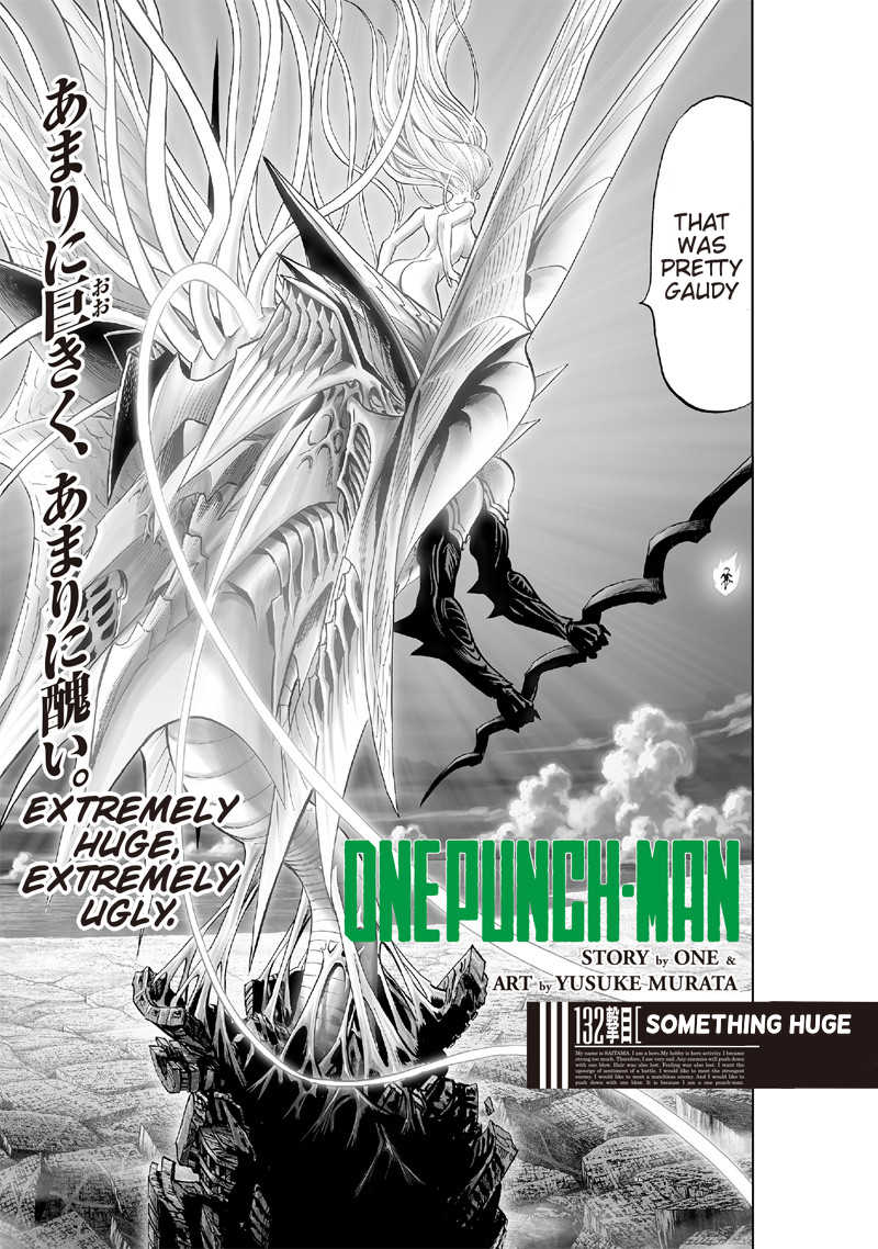 One Punch Man Chapter 132 Read Online Image 1