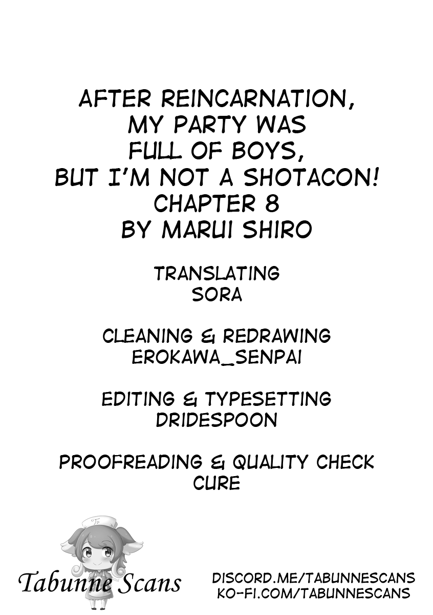After Reincarnation My Party Was Full Of Traps But Im Not A Shotacon Chapter 8  Online Free Manga Read Image 15