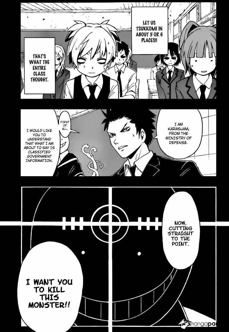 Ansatsu Kyoushitsu Chapter 1  Online Free Manga Read Image 13