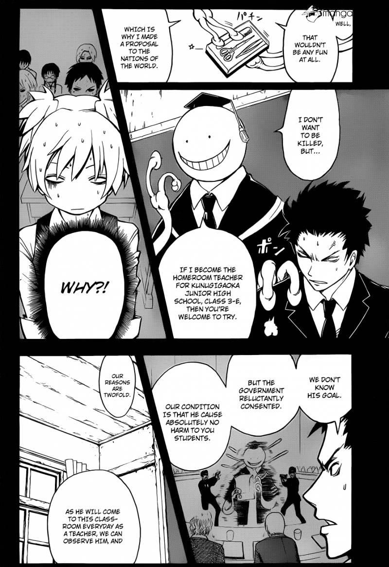 Ansatsu Kyoushitsu Chapter 1  Online Free Manga Read Image 16