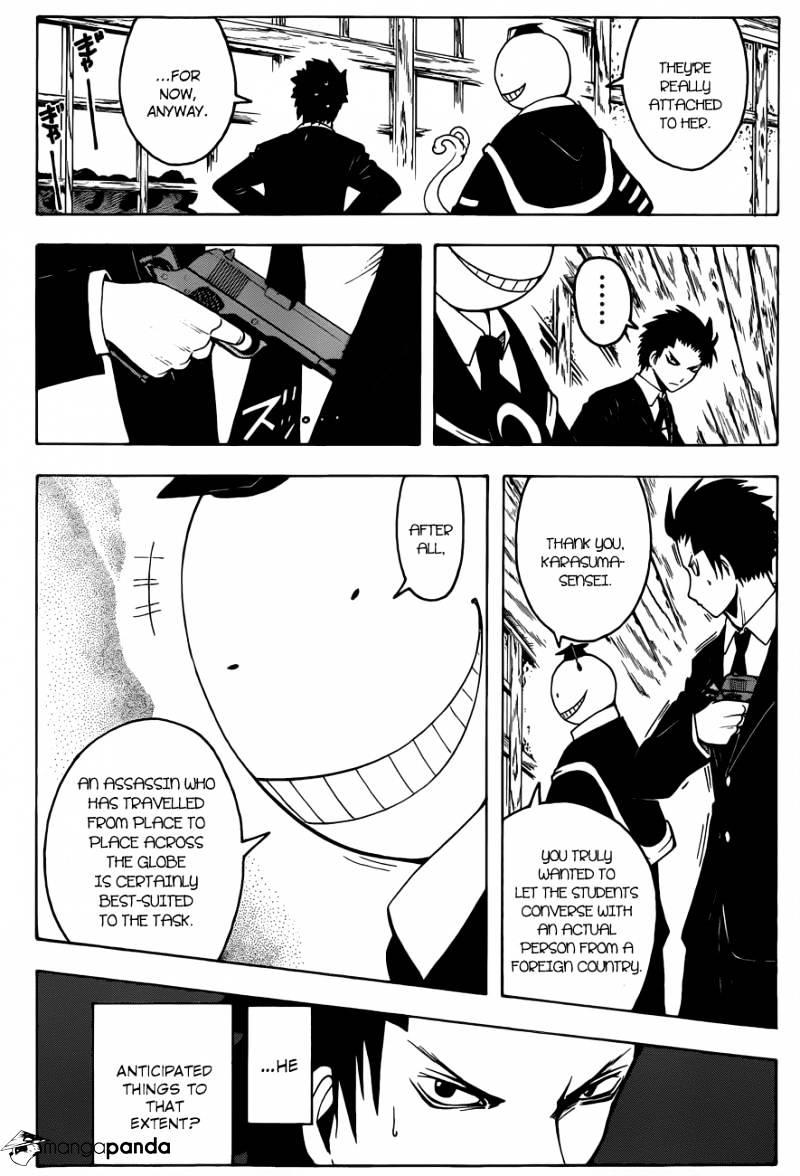 Ansatsu Kyoushitsu Chapter 10  Online Free Manga Read Image 21