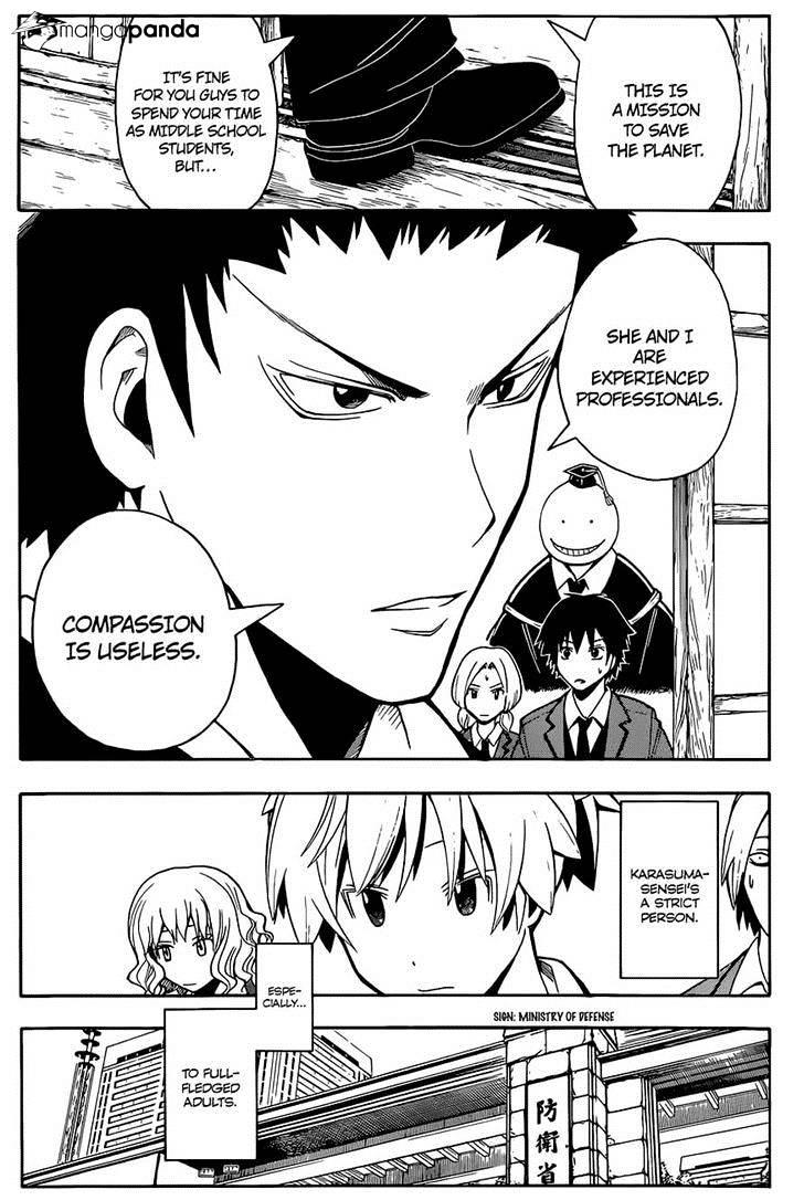 Ansatsu Kyoushitsu Chapter 100  Online Free Manga Read Image 2