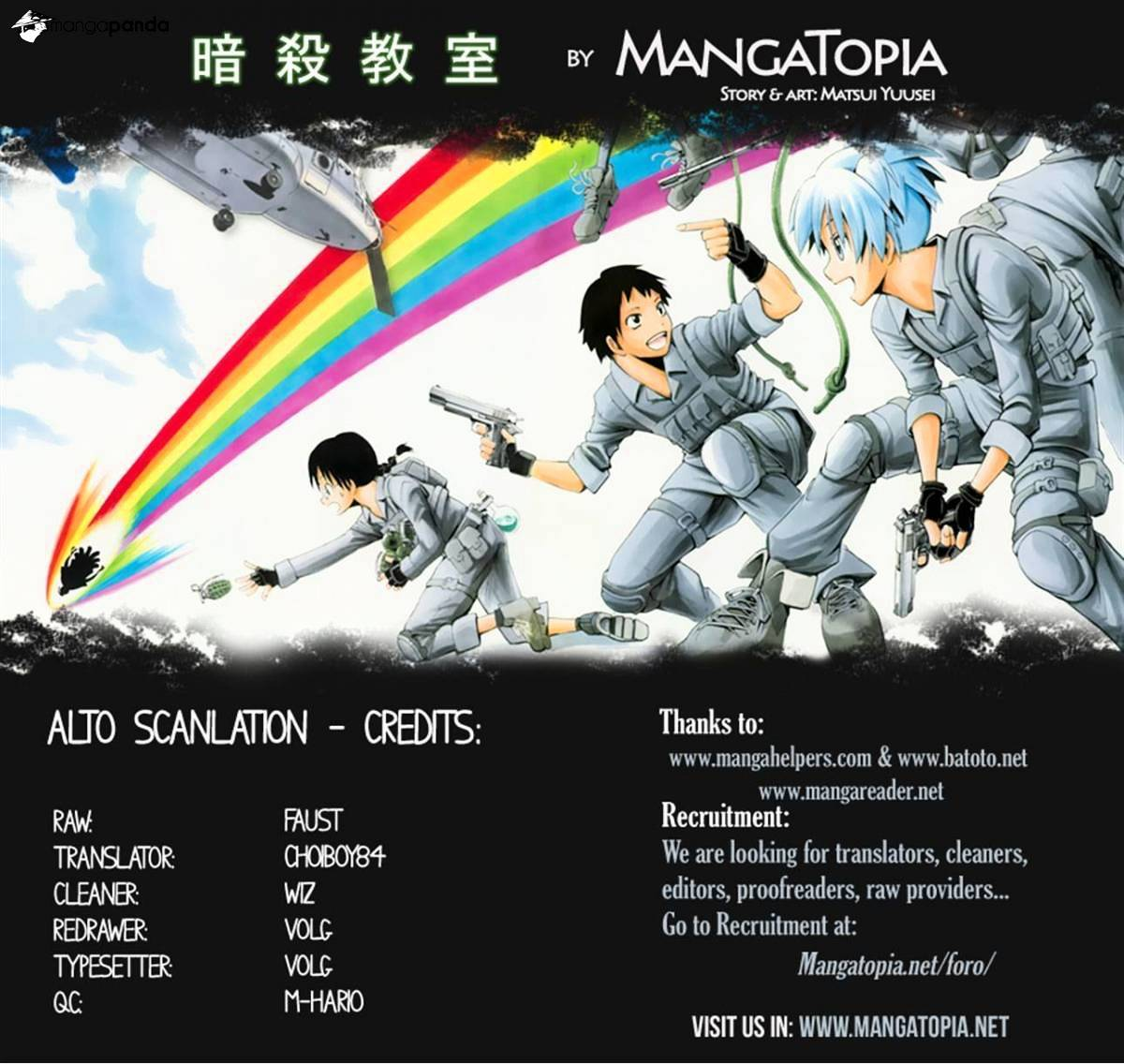 Ansatsu Kyoushitsu Chapter 100  Online Free Manga Read Image 20